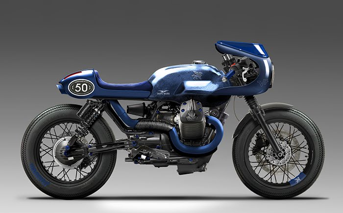 Wrench Kings Moto Guzzi V7 Build Specs