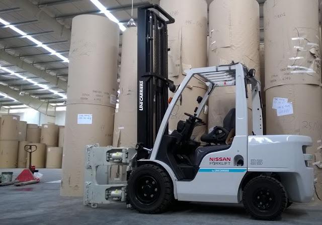 Nissan diesel forklift 3.5 tons
