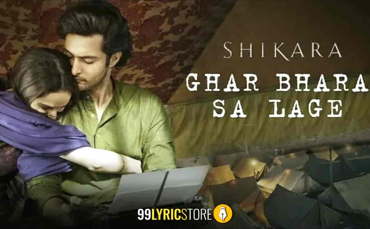 Ghar Bhara Sa Lage Song Images From Movie Shikara