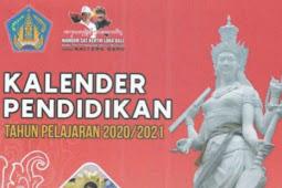 Kalender Pendidikan (Kaldik) 2021/2022 Provinsi Bali (PDF)