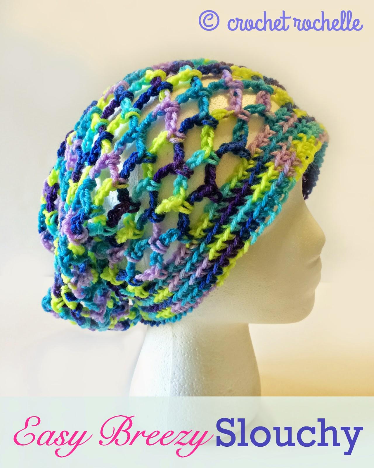 Summer Slouchy Beanie Crochet Pattern 6e47e8b6a0f