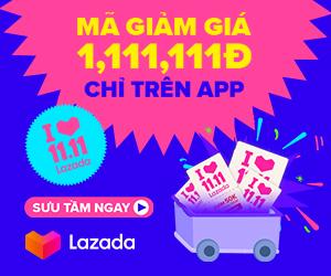 Mã giảm giá Lazada 11.11.2019