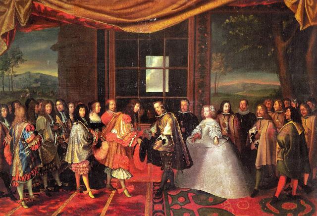 Signatura del tractat dels Pirineus