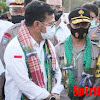 Brigjen Pol Drs. Halim Pagarra Dampingi SYL Mentan RI di Wajo