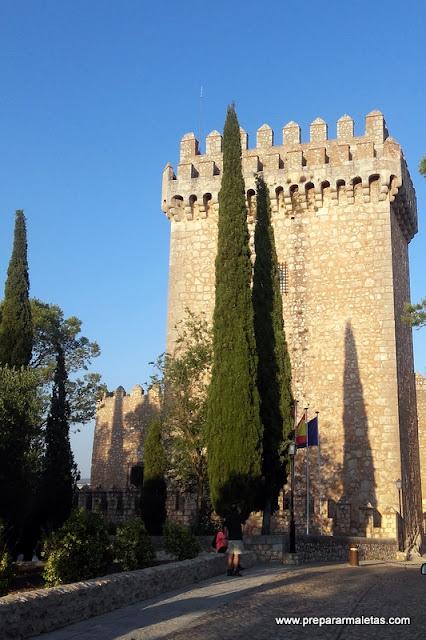 Torre del Homenaje en Alarcón Cuenca