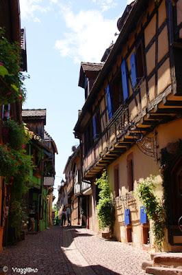 Tipiche maison a colombage di Riquewihr