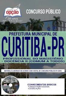 Apostila Concurso Prefeitura de Curitiba 2019 PDF Download
