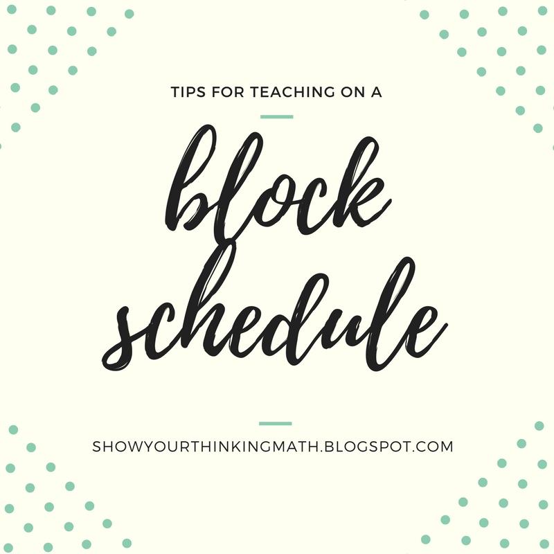 Block Schedule Planning