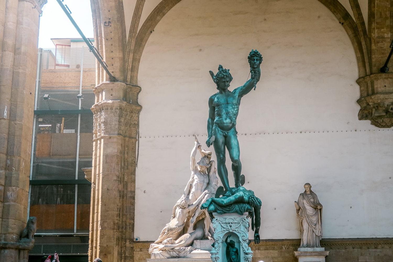 Medusa Statue Florence Italy