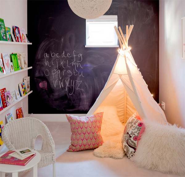 teepee playroom