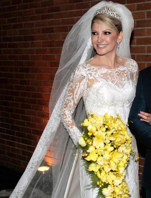 Antonia Fontenelle vestido de noiva, casamento com jonhanatas costa