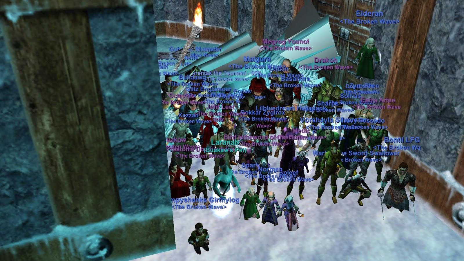 Arentak's Everquest Blog: Revenge! Vox down! Naggy down!