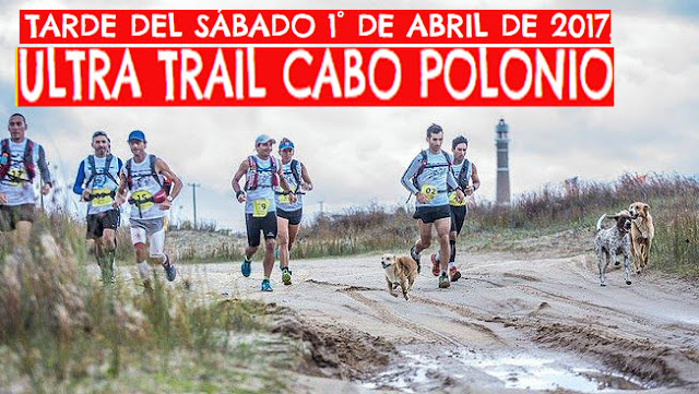 Ultra Trail Cabo Polonio (60k, 42k, 21k, 10k, Rocha, 01/abr/2017)