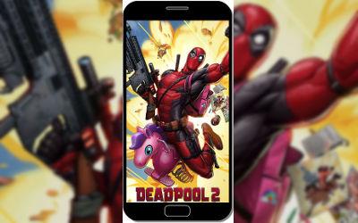 Deadpool Comics Explosion Licorne - Fond d'Écran en QHD pour Mobile