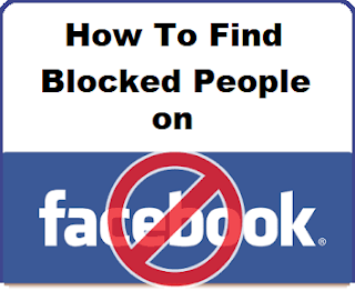 How Do I Find My Blocked List On Facebook