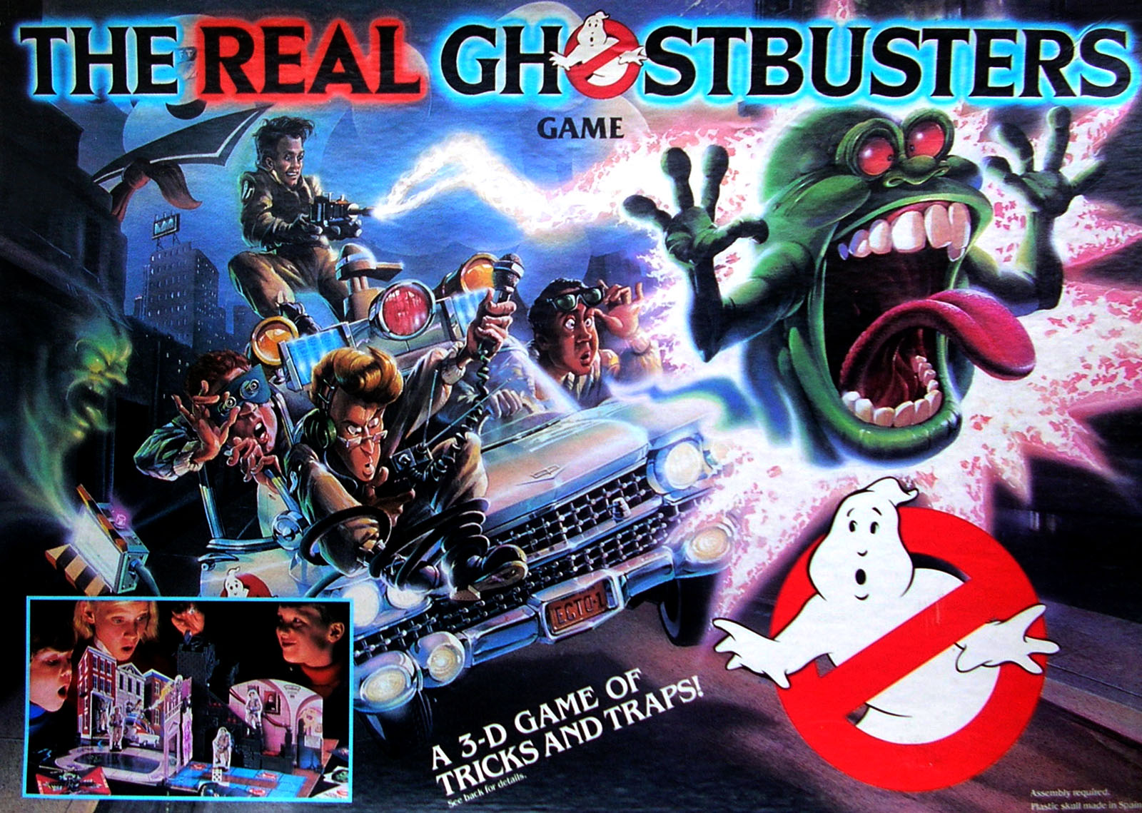 The real ghostbusters gioco da tavolo brivido 1986 MB
