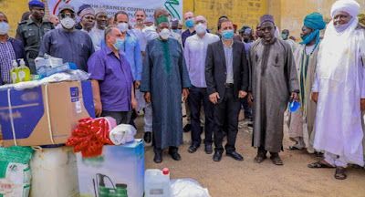 Lebanese community donates food items, other essentials worth over N100m in Kano