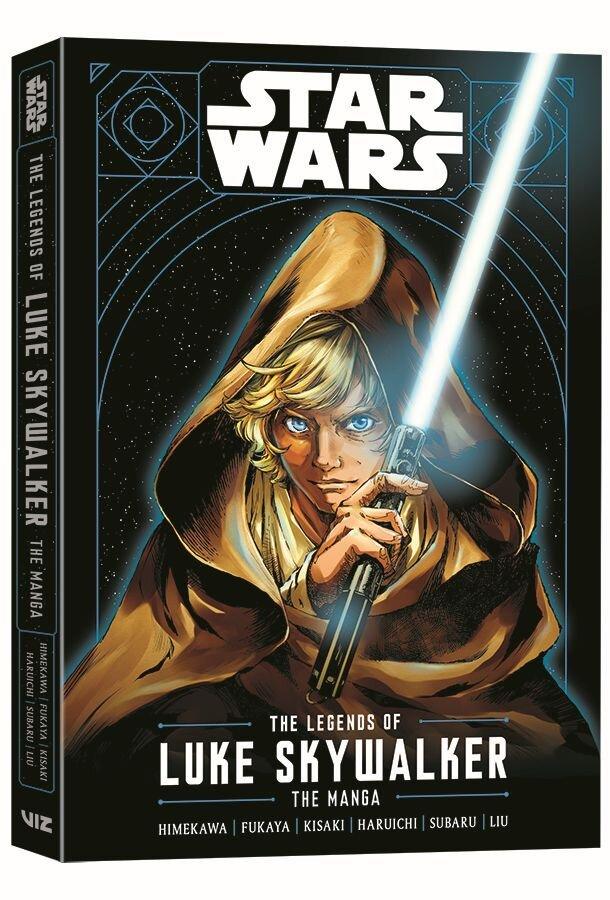 VIZ Media lanza el manga STAR WARS: LEYENDAS DE LUKE SKYWALKER