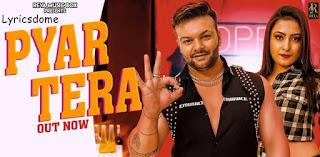 Pyar Tera Lyrics - JSR