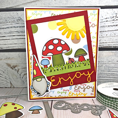 Lisa Mears Card Designs - The Stamps of Life April Card Kit - Card 3