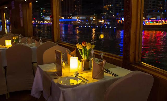 Dinner Buffet Marina cruise Dubai