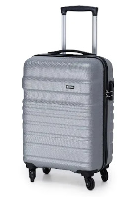 Verage Tokyo 56 cms Grey Cabin | Best Luggage Bags for International Travel in India | Best Luggage Bag Brands