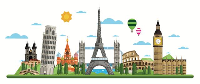 As cidades mais bonitas da Europa