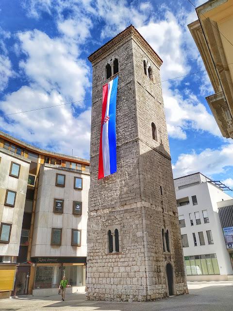 ścisłe centrum Rijeki, miasto do zobaczenia, Chorwacja