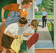 Arrow Magazine Advert 1950s