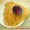 Doodhi paratha- Calabash roti