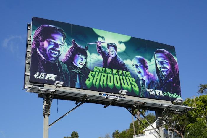 What We Do in the Shadows season 2 billboard