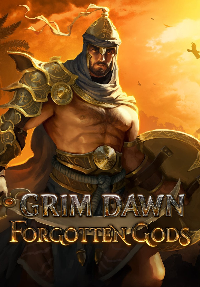 Descargar Grim Dawn Forgotten Gods PC Cover Caratula