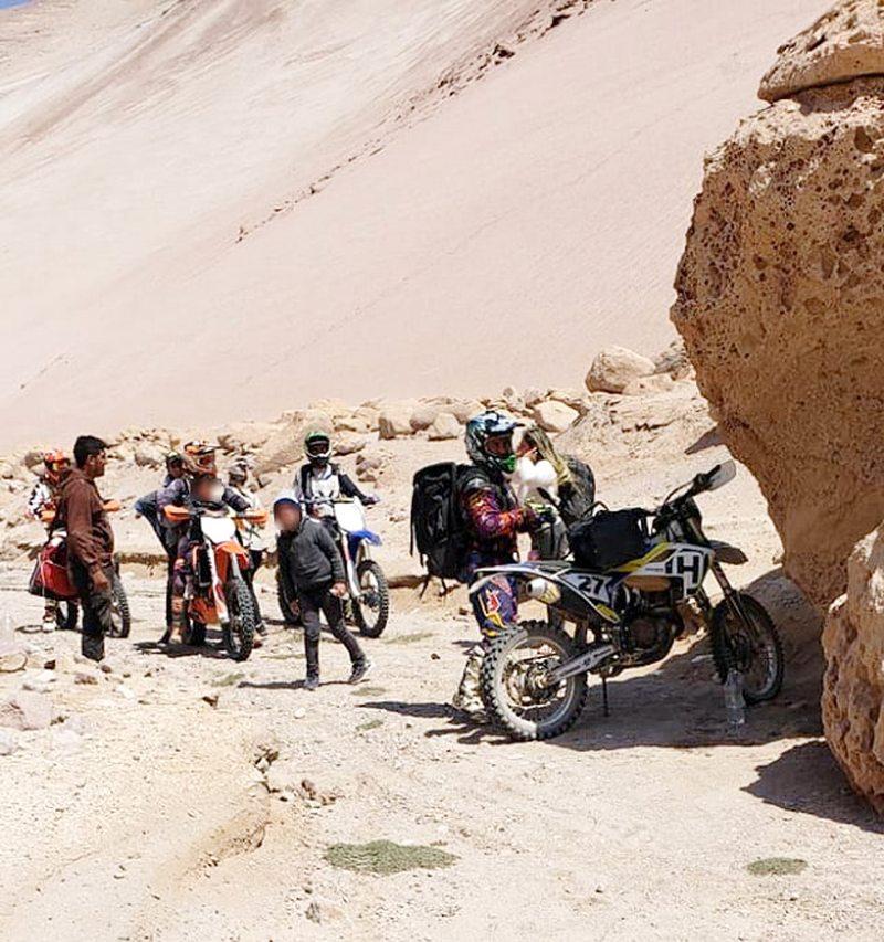 Hablan las rescatadas por los motoqueros en el norte