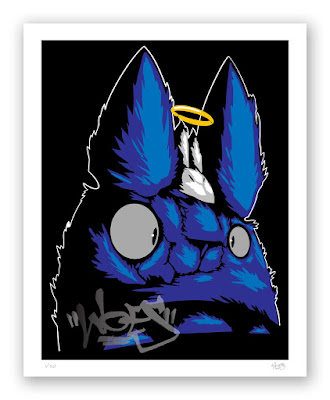 """""""Toto"""" Fine Art print by Woes Martin x Silent Stage Gallery"""