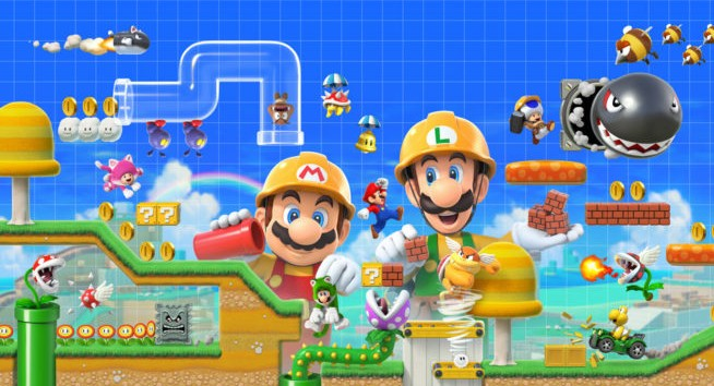 Super Mario Maker 2 Revelado Para O Nintendo Switch