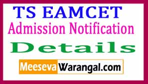 TS EAMCET 2017Notification