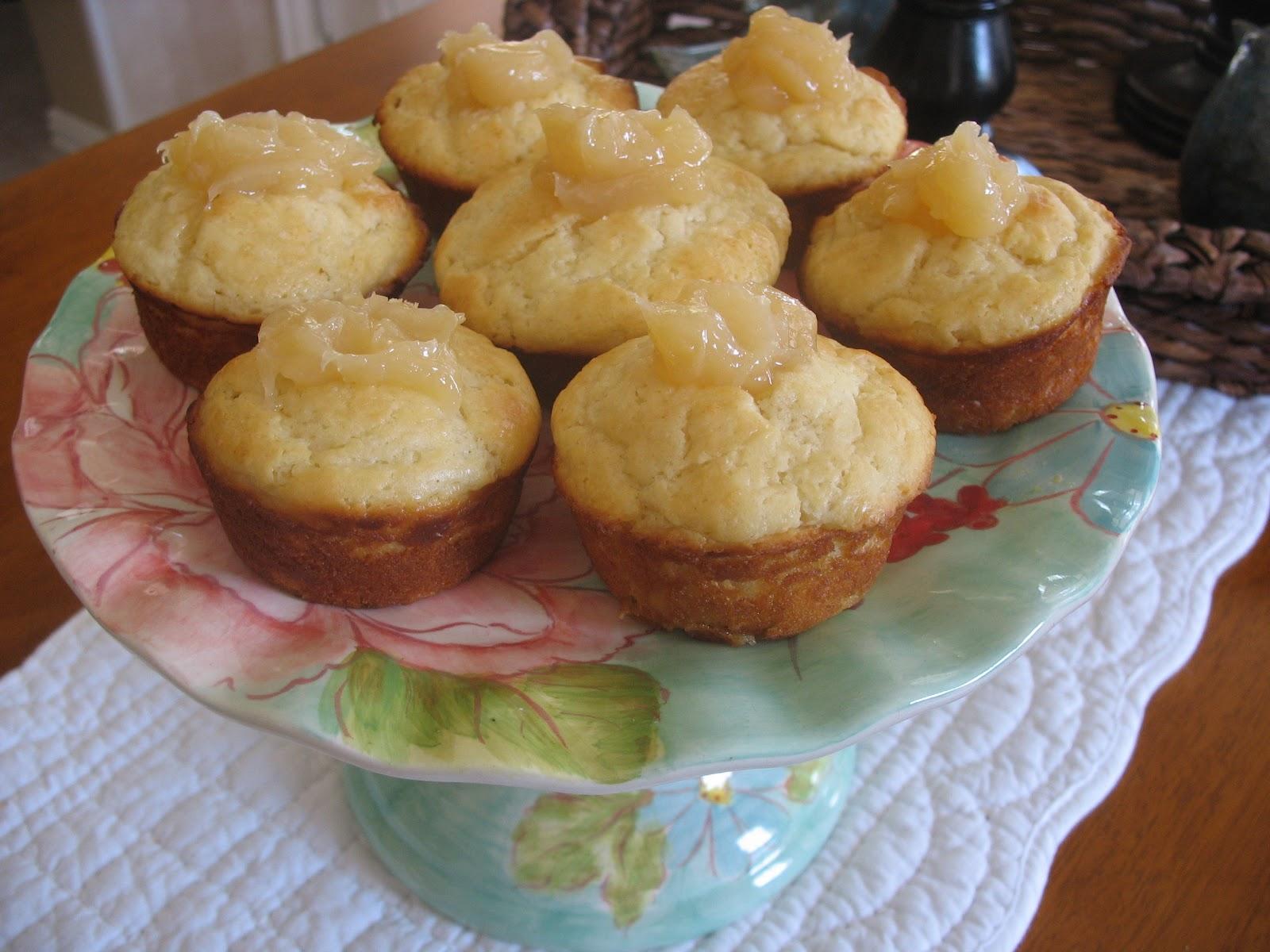 Estelle S Lemon Curd Yogurt Muffins