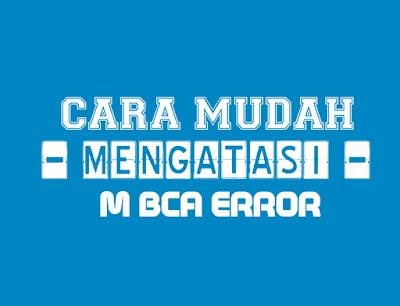 m Banking BCA Error