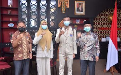 Baiq Gina Ramadhina Rahmat dan I Gede Arya Wirabakti Jadi Duta Paskibraka Lombok Barat