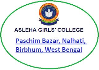 Asleha Girls' College, Paschim Bazar, Nalhati, Birbhum, West Bengal