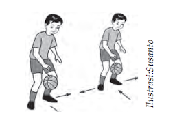 Teknik Menggiring/Mendribel Bola Basket