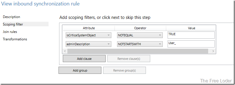defaultfilter
