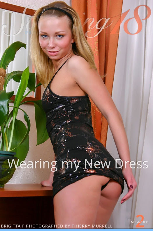 8693105085 [Stunning18] Brigitta F - Wearing my New Dress