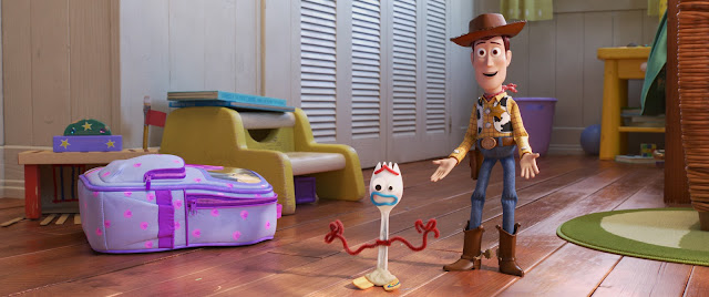 Woody and Forky from Toy Story 4