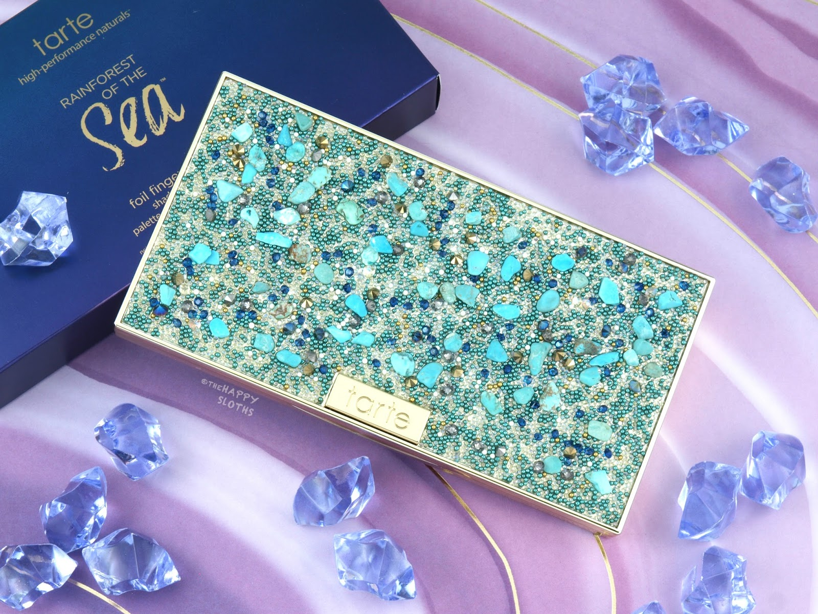 Tarte | Rainforest of the Sea Foil Finger Paints Shadow Palette: Review and Swatches