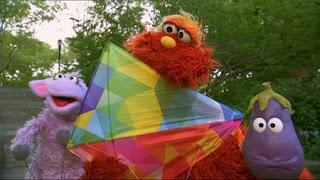 Murray's Monster Measuring kite, Ovejita, eggplant, Sesame Street Episode 4401 Telly gets Jealous season 44