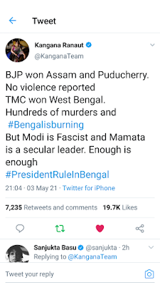 Modi is Fascist and Mamata is a secular