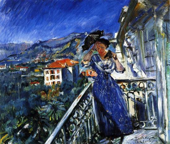 Bordighera, 1912, un dipinto di Lovis Corinth