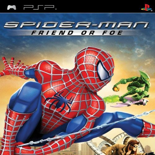 GAME SPIDER MAN 1 : FRIEND OF FOE FULL SAVE DATA   PPSSPP