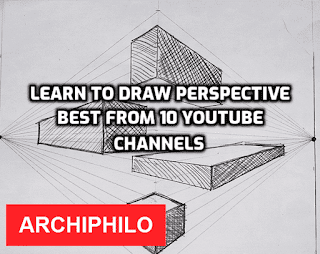 Learn to draw perspective best from 10 YouTube channels